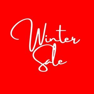 25% OFF // 2 WINTER ITEMS MARKED WITH SNOWFLAKE